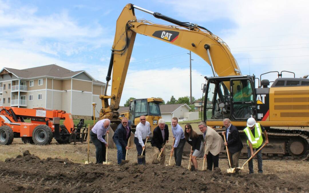 Ground broken on new $8.5 million Century Cottages project