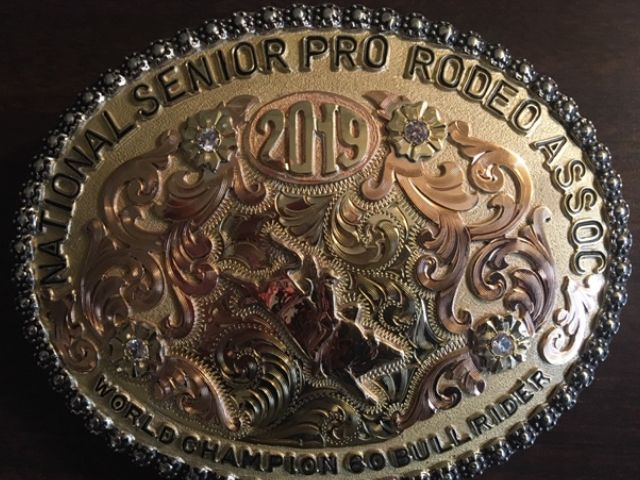 LCD Group's Lyle Hogue wins National Senior Pro Rodeo Bull Riding Championship