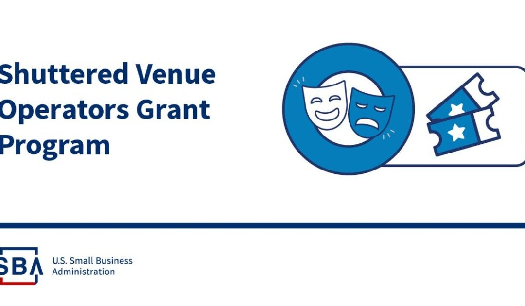 Shuttered Venue Operators Grant applications open April 8; here are five things you should know