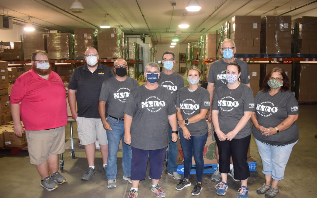 LCD Group volunteers for Great Plains Food Bank, participates in annual United Way 'Day of Caring'